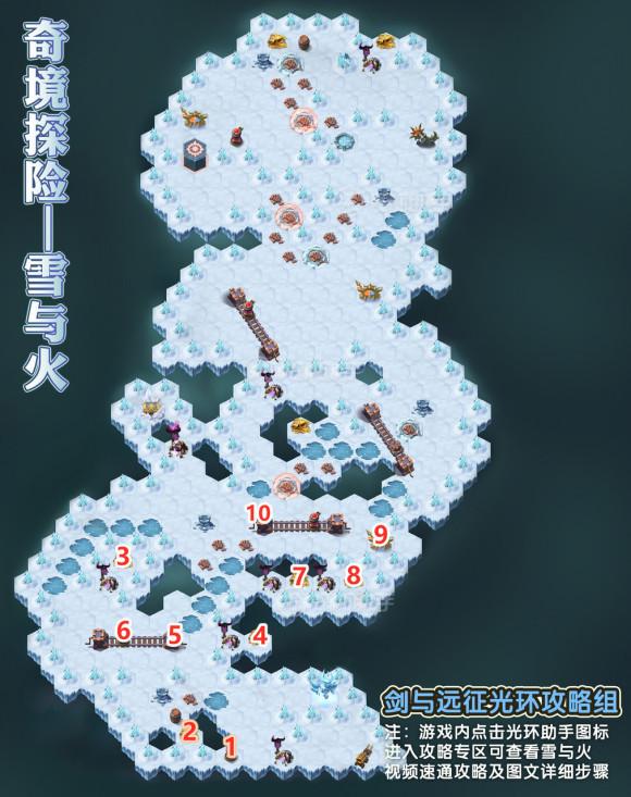 剑与远征《AFKArena》雪与火奇境攻略